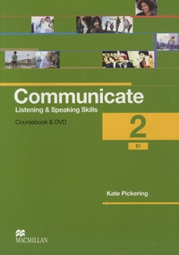 Kate Pickering - Communicate - 2 - Student's Coursebook. 1 DVD + 2 CD audio