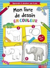 Histoiresdenlire.be Mon livre de dessin en couleur - Apprendre à dessiner pas à pas Image