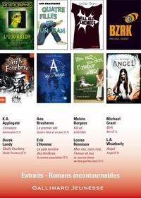 Katherine Applegate et Ann Brashares - 8 romans incontournables Gallimard jeunesse - Extraits.
