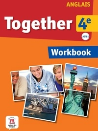 Katherine Bilsborough et Steve Bilsborough - Anglais 4e A2/B1 Together - Workbook.