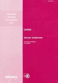 Katherine Weinland - CAPES lettres modernes - Concours externe et CAFEP.