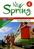 Kathleen Julié et Françoise Lemarchand - New Spring 4e - Workbook.