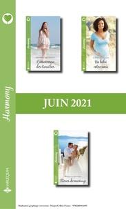 Kathy Douglass et Rebecca Winters - Pack mensuel Harmony : 3 romans (Juin 2021).