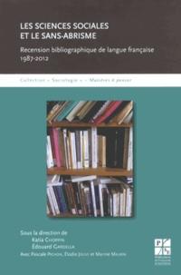 Katia Choppin et Edouard Gardella - Les sciences sociales et le sans-abrisme - Recension bibliographique de langue française (1987-2012).