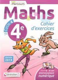 Katia Hache et Sébastien Hache - Maths 4e cycle 4 Iparcours - Cahier d'exercices.
