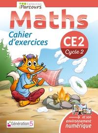 Katia Hache et Sébastien Hache - Maths CE2 iParcours - Cahier d'exercices.