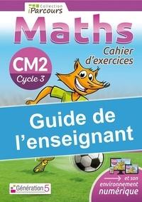 Katia Hache et Sébastien Hache - Maths CM2 Cycle 3 iParcours Cahier d'exercices - Guide de l'enseignant.