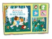 Katleen Put et Ailie Busby - Coffret Il était une fois... - Mes plus beaux contes avec 1 puzzle de 25 pièces et 1 jeu de mémoire de 48 cartes.