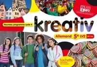 Katrin Goldmann et Ulrike Jacqueroud - Allemand 5e LV2 A1/A2 Kreativ.