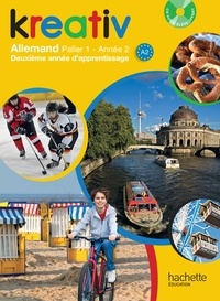 Katrin Goldmann et Ulrike Jacqueroud - Kreativ Allemand palier 1, année 2. 1 CD audio MP3