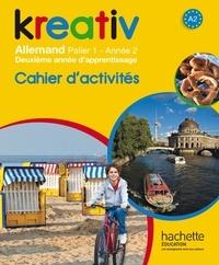 Accentsonline.fr Kreativ Allemand palier 1, année 2 - Cahier d'activités Image