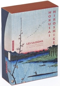 Katsushika Hokusai et  Hiroshige - Les saisons par les grands maîtres de l'estampe japonaise.
