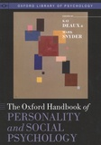 Kay Deaux et Mark Snyder - The Oxford Handbook of Personality and Social Psychology.