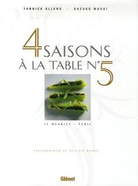 Kazuko Masui et Yannick Alleno - Quatre saisons à la table N° 5 - Le Meurice, Paris.