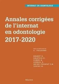 Kazutoyo Yasukawa - Annales corrigées de l'internat en odontologie 2017-2020.