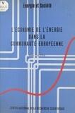 Kees Zijlstra - L'économie de l'énergie dans la Communauté européenne.