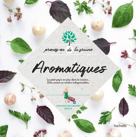 Aromatiques. 4 sachets de graines inclus