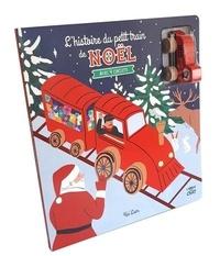 Kei Lam - L'histoire du petit train de Noël - Avec 4 circuits et un petit train en bois.
