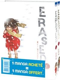 Kei Sanbe - Erased Tomes 1 et 2 : Pack offre découverte - 1 manga acheté = 1 manga offert.