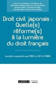 Keita Baba et Frédéric Bicheron - Droit civil japonais - Quelle(s) réforme(s) à la lumière du droit français ?.