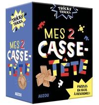 Mes 2 casse-tête - Casse-tête en bois à résoudre! 2 casse-tête puzzles en bois et 1 livret avec les solutions.pdf