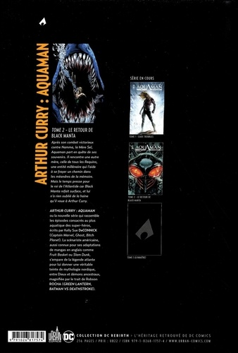 Arthur Curry : Aquaman Tome 2 Le retour de Black Manta