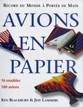 Ken Blackburn - Avions en papier - Records du monde à portée de main.