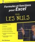 Ken Bluttman - Formules et fonctions pour Excel pour les nuls - Versions 2010, 2013 et 2016.