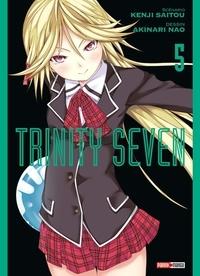 Kenji Saitou et Akinari Nao - Trinity Seven Tome 5 : .
