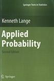 Kenneth Lange - Applied Probability.