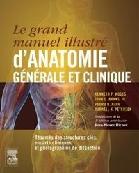 Le grand manuel d'anatomie générale et clinique- Résumés des structures clés, encarts cliniques et photographies de dissection - Kenneth-P Moses | Showmesound.org
