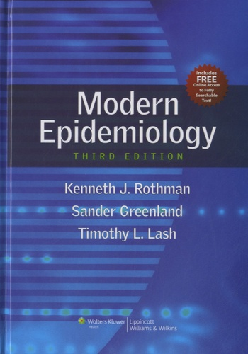 Modern Epidemiology 3rd edition