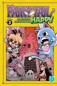 Kenshiro Sakamoto - Fairy Tail - La grande aventure de Happy Tome 3 : .