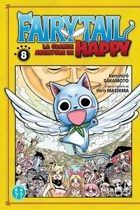 Kenshiro Sakamoto - Fairy Tail - La grande aventure de Happy Tome 8 : .