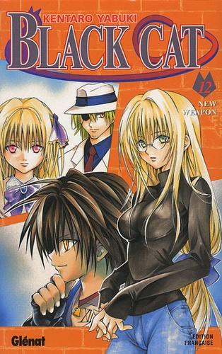 Kentaro Yabuki - Black Cat Tome 12 : New Weapon.