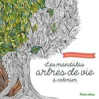 Kesar Khinvasara - Les mandalas arbres de vie à colorier.