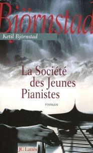 Ketil Bjornstad - La Société des Jeunes Pianistes.