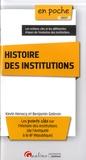 Kévin Henocq et Benjamin Galeran - Histoire des institutions.