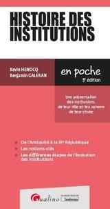 Kévin Henocq - Histoire des institutions.