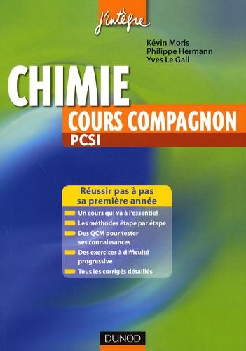Kevin Moris - Chimie cours compagnon PCSI.