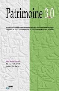 Histoiresdenlire.be Patrimoine 3.0 - Actes du douzième colloque international sur le document électronique : 21-23 octobre 2009, Université de Montréal, Canada Image
