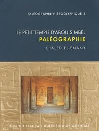 Khaled El-Enany - Le petit temple d'Abou Simbel - Paléographie.