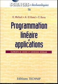 Openwetlab.it Programmation linéaire et applications - Eléments de cours et exercices corrigés Image