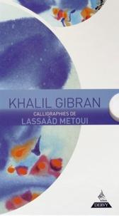 Khalil Gibran - Khalil Gibran - Coffret en 3 volumes : Le Prophète ; Jésus, fils de l'homme ; Le Jardin du Prophète.