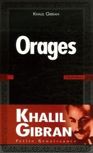 Khalil Gibran - Orages.