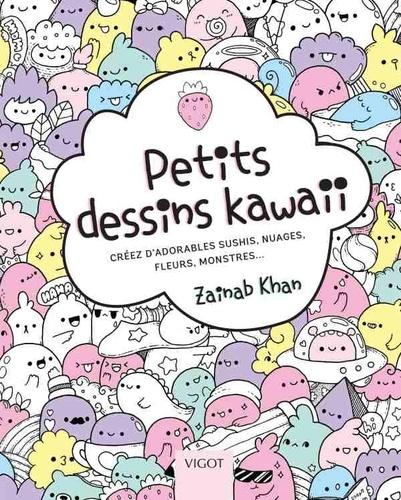 Petits Dessins Kawaii Creez D Adorables Sushis Nuages Fleurs Monstres Grand Format