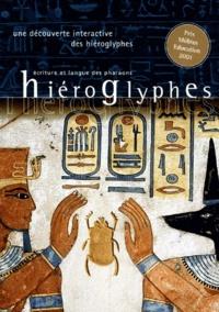 Collectif - Hiéroglyphes, écriture et langue des pharaons - 2 CD-ROM, Edition 2001.