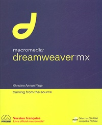 Khristine-Annwn Page - Dreamweaver MX. 1 Cédérom