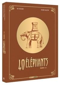 Kid Toussaint et Virginie Augustin - 40 éléphants Cycle 1 : Pack en 2 volumes : Tome 1, Florrie, doigts de fée ; Tome 2, Maggie , passe-muraille.