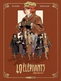 Kid Toussaint et Virginie Augustin - 40 éléphants Cycle 1 Tome 1 : Florrie, doigts de fée.